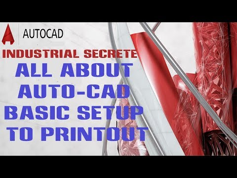 Auto CAD Drawing Printout in your own Desired Scale ! {नेपाली भाषामा} #PrintAutocadDrawing