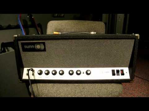 1969 Sunn Sceptre Amplifier