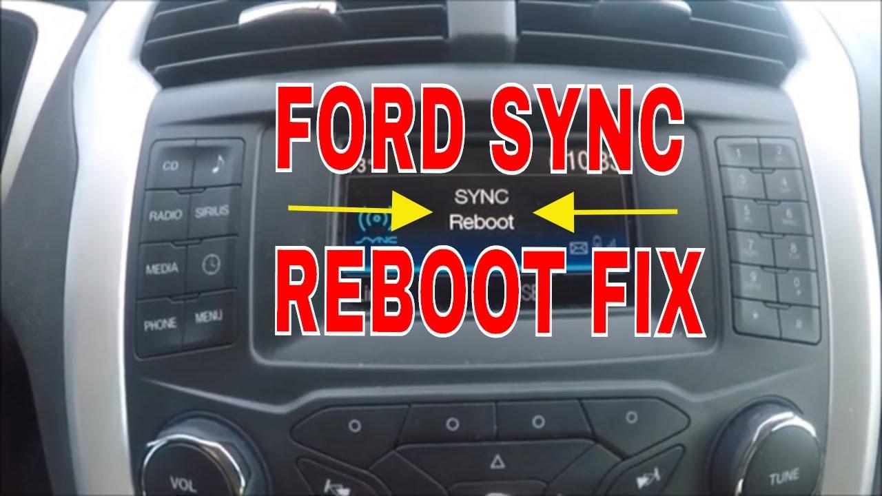Ford Sync Bluetooth Fix Youtube