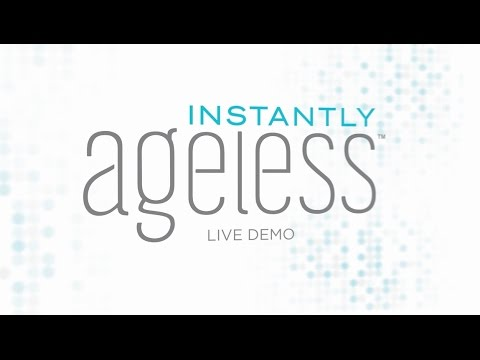 INSTANTLY AGELESS LIVE DEMO