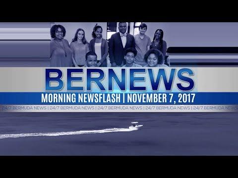 Bernews Morning Newsflash For Tuesday November 7, 2017
