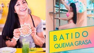 TOMO ESTO Y QUEMO GRASA para un abdomen plano con ingrediente secreto Ana Mojica Fitness