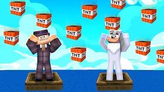 DESZCZ TNT W Minecraft! KTO TO PRZETRWA?!