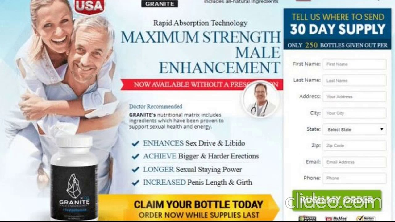 Granite Male Enhancement – Pills to Escalate Your Bedroom Performance!