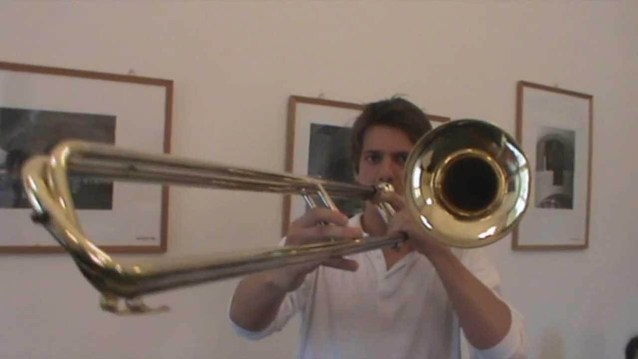 Contrabass Trombone testing - YouTube