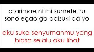 Kana Nishino - Suki Lyrics And Indonesian Translation