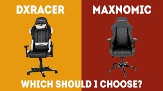 Maxnomic vs DXRacer – Which Gaming Chair Is Better? [Simple Guide]