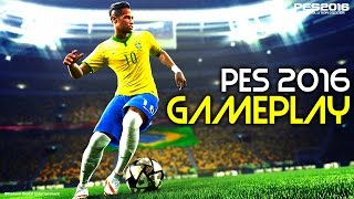 13 Minutes of PES 2016 Gameplay/Footage (Roma Vs Juventus) - Gamescom 2015 In Germany (HD)