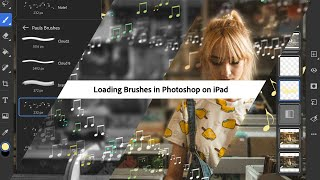 How to Load Brushes in Photoshop on iPad - #PHOMO