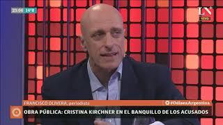 Cristina Kirchner en el banquillo de los acusados - Carlos Pagni con Francisco Olivera