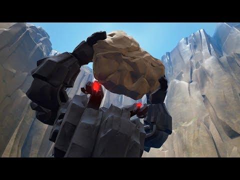 Kingdom Hearts 3: Rock Titan Boss Fight #2 (English)