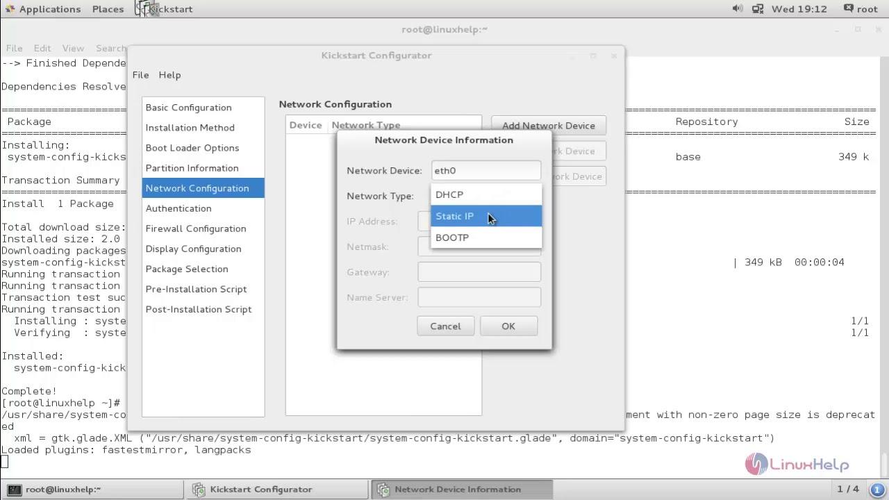 How to Configure kickstart to automate RHEL 7/CentOS 7 installation