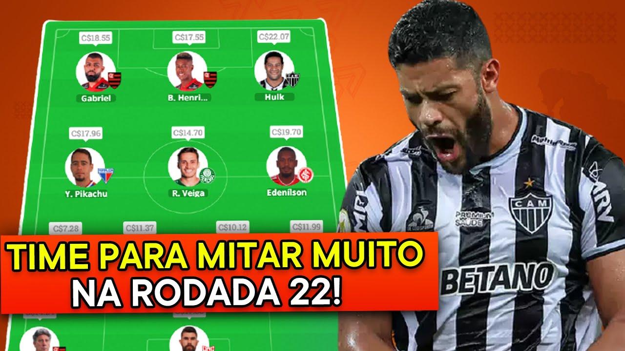 Download MELHORES DICAS + TIME PARA MITAR NA RODADA 22! (+80 PONTOS) - Cartola FC 2021