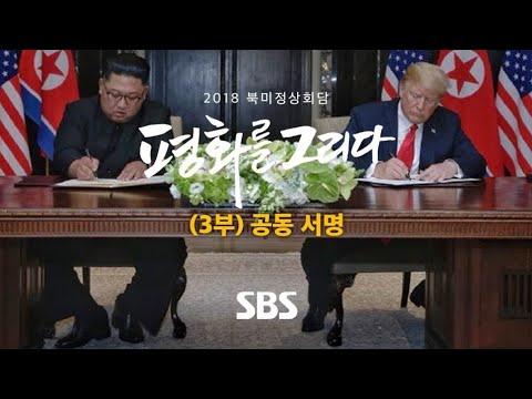 2018 북미정상회담 특별 생방송 (3부) (풀영상) / SBS / 2018 북미정상회담