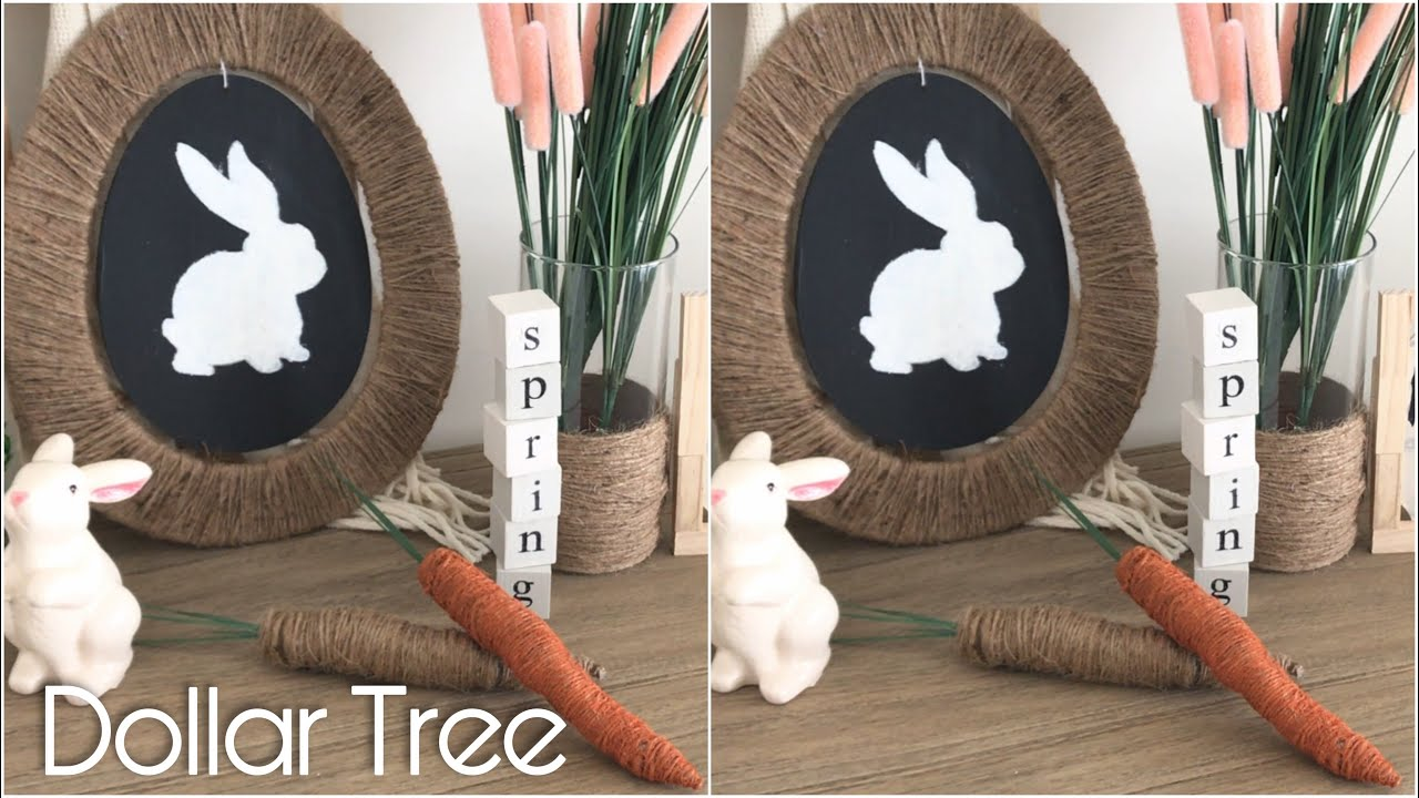 5 Rustic Farmhouse Easter Dollar Tree Diy How To Make Twine
