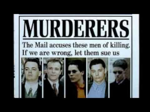 The Boys who DIDN'T Kill Stephen Lawrence?