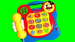 Mickey Mouse Clubhouse Telephone Learning Toy Oh Toodles Disney Baby Learn Colors Numbers