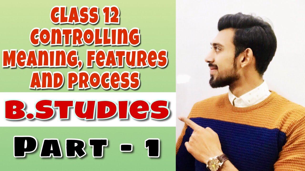 Download Controlling   part-1   business studies   Class 12
