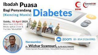 Ibadah Puasa Bagi Penderita Diabetes