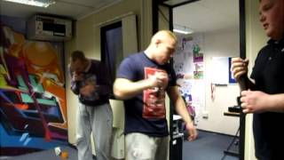 DANCE WARS PRACTICE // MC ROCKEYE // MC GENNO-D // MC TRIKEN // DJ ROBSON // MAY 2013
