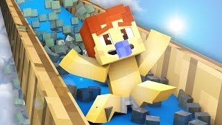 minecraft who s your daddy baby blows up the water park