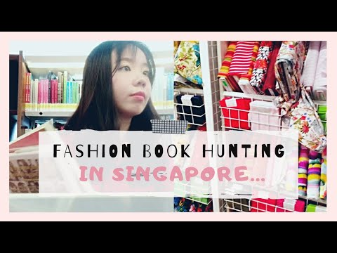 fashion-book-at-bookstore-library,-fabric-&-sewing-shope,-cny-2020-|-singapore-vlog-(eng-sub)