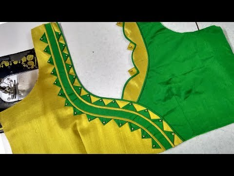 Blouse designing at home || Womens fashion blouses || Latest designs of ladies blouses