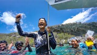 HANAKO HIROSE WORLD RECORD 103m CWT dive