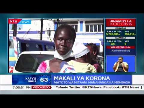 Familia kutoka Nairobi yalalamika kutokana na ugumu wa maisha baada ya kukwama Mombasa