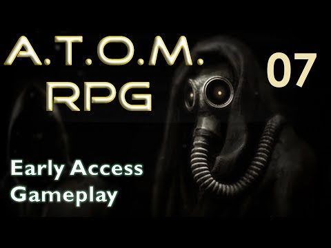 A.T.O.M. RPG--Early Access Gameplay 07 Gun and a Hat!