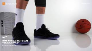 Nike Kobe XI Elite Low BLACK SPACE on