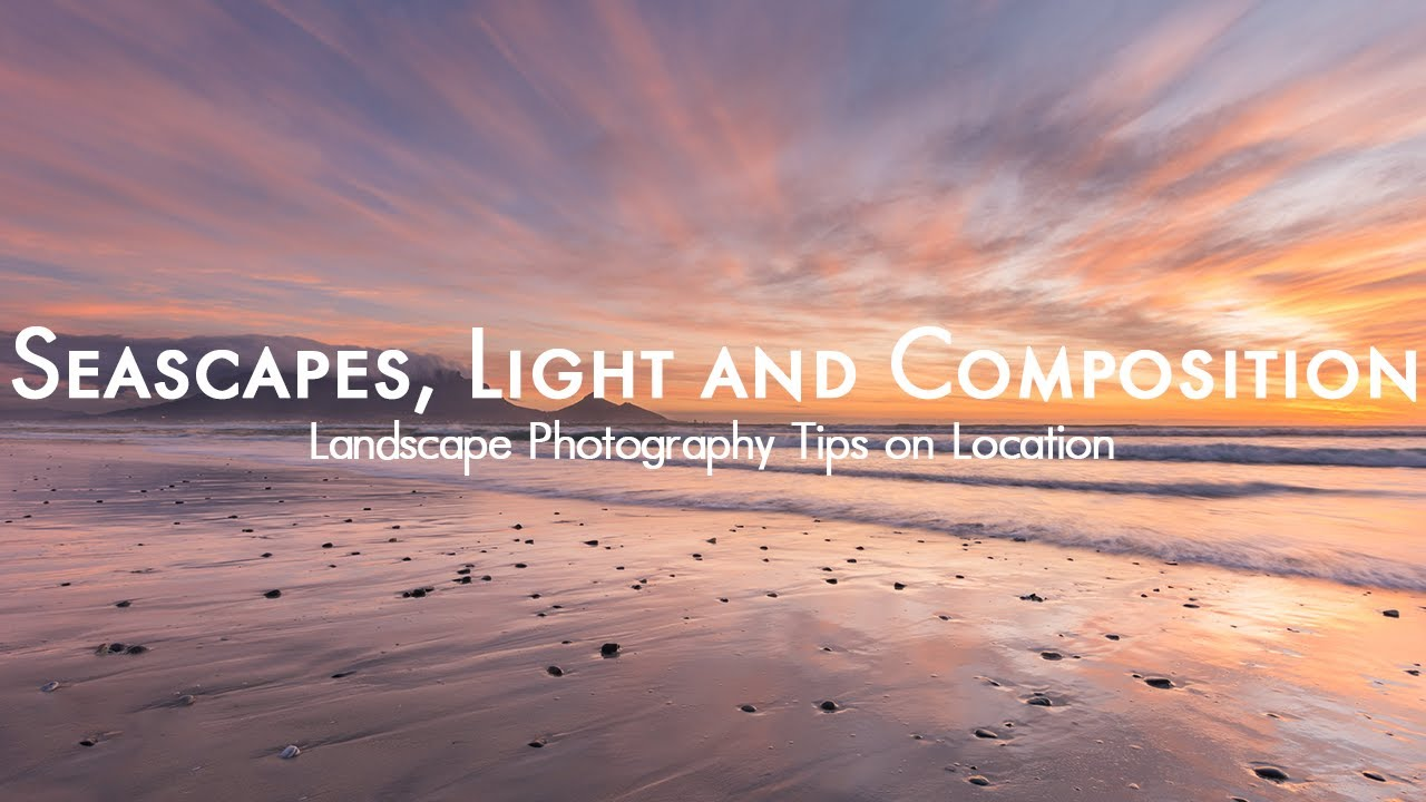 landscape photography seascapes from sunset beach youtube