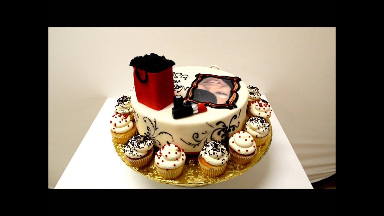 Fashion Theme Cake Love To Shop Youtube