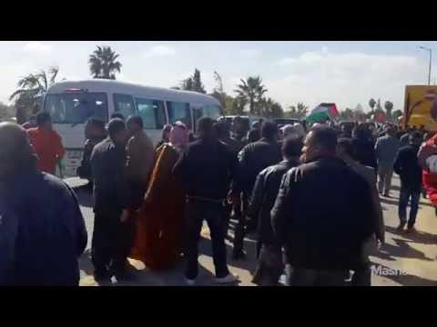 Scenes from Amman after the death of Jordanian pilot Lieutenant Muath al-Kaseasbeh   Mashable