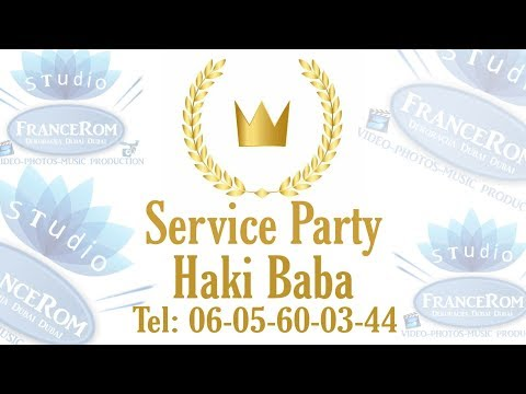 Service Party Haki Baba 2019 Studio FranceRom & Dekoracija Dubai Dubai