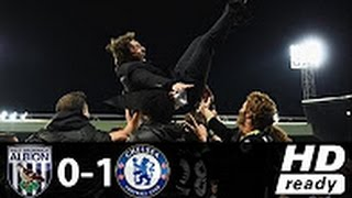 West Bromwich vs Chelsea 0-1 Full HD Extended Highlights 12/05/2017