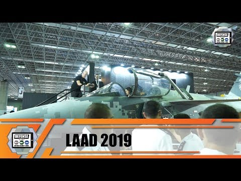 LAAD 2019 International Defense And Security Exhibition Trade Fair Rio Brazil Show Daily News