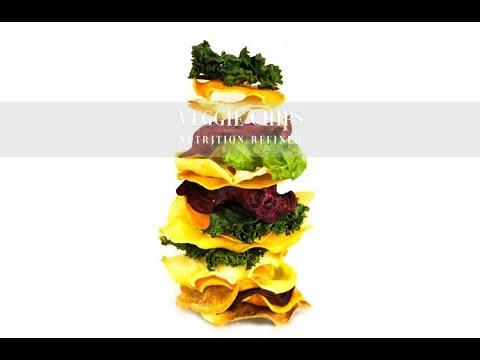 Crispy Veggie Chips from Root Vegetables | Oven-Baked