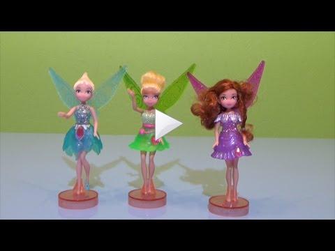 Феи Дисней Загадка пирастского острова Распаковка игрушек Disney Pirate Fairies