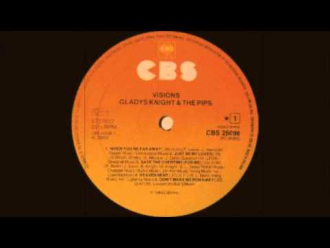 Gladys Knight & The Pips - Just Be My Lover (Columbia Records 1983)