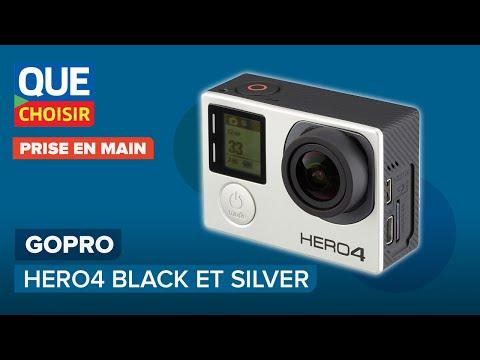 GoPro Hero4 Black et Silver Prise en main