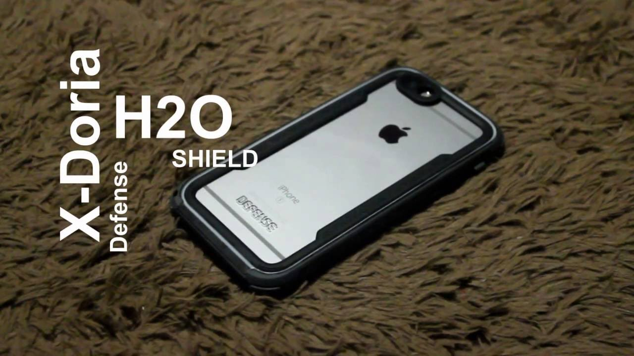 hot sale online 5b23b 77697 Unboxing & Review Case Iphone 6s X Doria Defense Shield H2O Waterproof