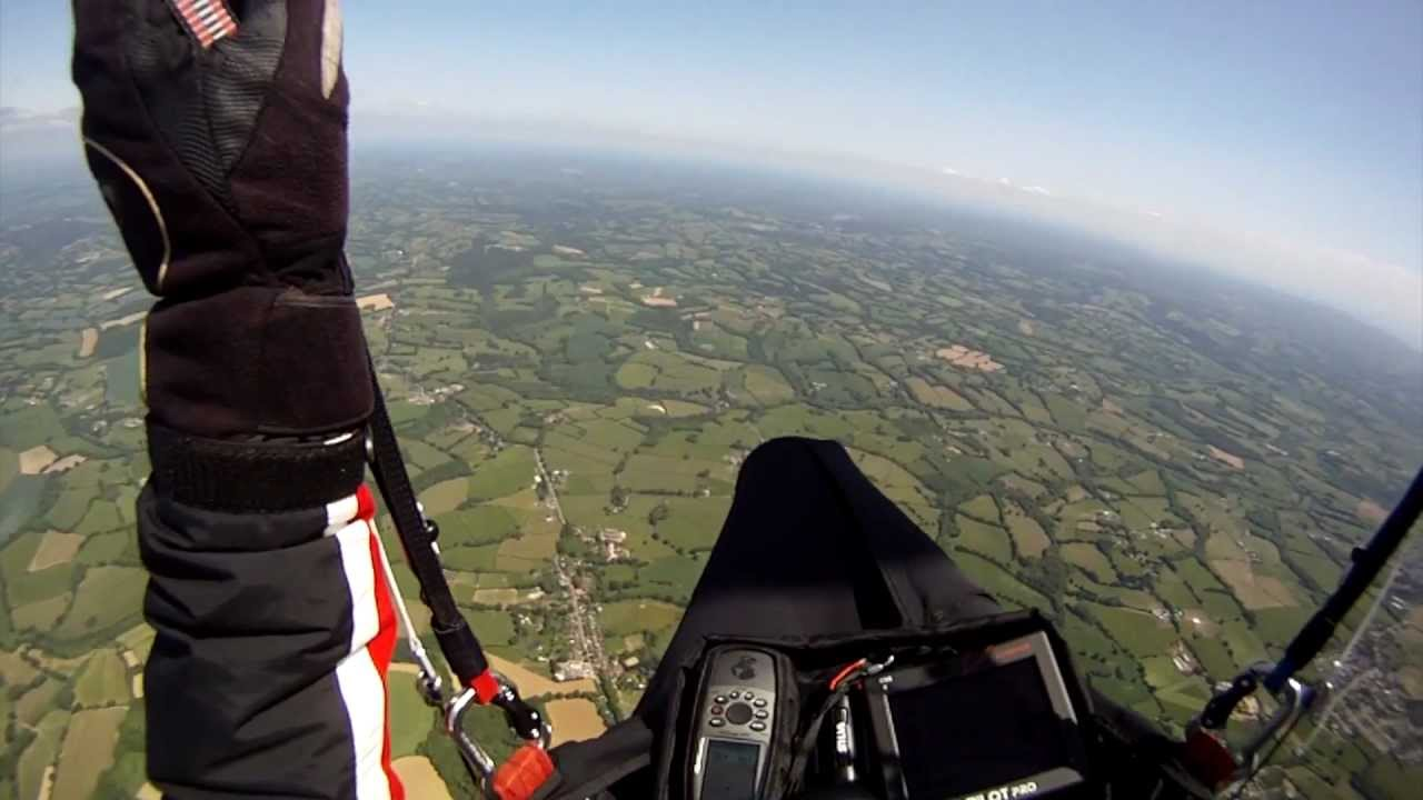 Two flights from Devil's Dyke with Flybubble Paragliding