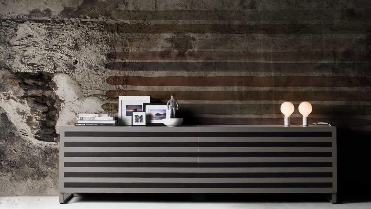 Credenza LINE - Linfa Design - YouTube