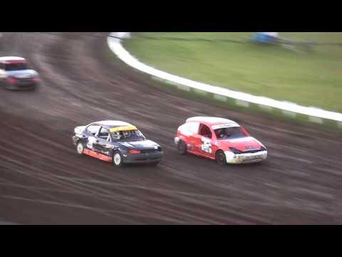 Outlaw 4 Cylinder Heat Farley Speedway 7/14/17