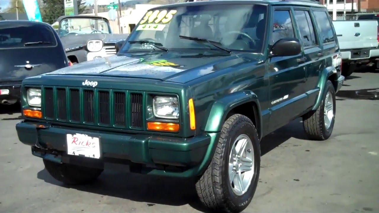 Jeep Cherokee Classic >> 2001 Jeep Cherokee Classic 4x4 Sold