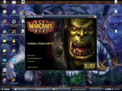 Como descargar Warcraft III Region del Caos (ESPAÑOL)