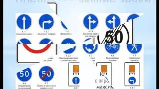 Знаки особых предписаний  Предписывающие знаки