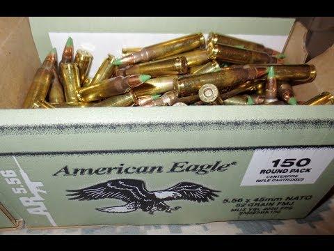 Walmart: American Eagle 150 Round Boxes 5.56 (XM855)