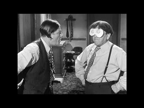 "Moe Explains The Joke: ""Flagpole Jitters"" (Three Stooges, 1956)"